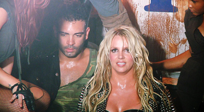 Candid Moments From 'Britney Spears: I Am The Femme Fatale' - Britney shoots her 'Till the World Ends' video.