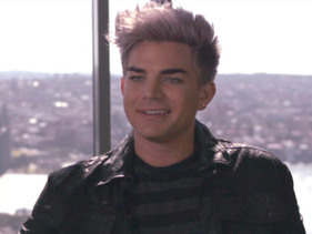 Adam Lambert Interview 2012
