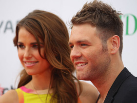 Brian McFadden Marries Vogue Williams!