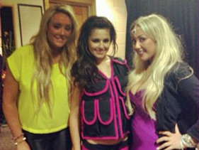 Charlotte And Sophie Meet Their Geordie Idol Cheryl Cole!