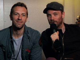 Coldplay World Exclusive!