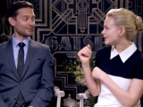 The Great Gatsby: Tobey Maguire and Carey Mulligan interview