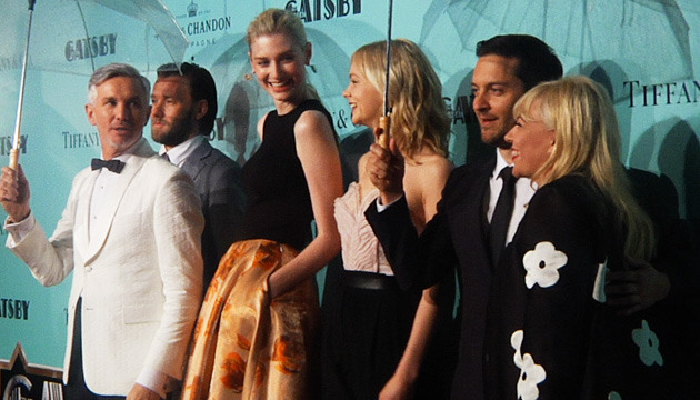VIDEO: 'The Great Gatsby' Aussie premiere!