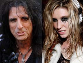 Ke$ha Shocks Alice!