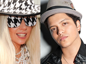 Gaga And Bruno For EMA!
