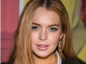 Lindsay Lohan Hits The Set Of Scary Movie 5!