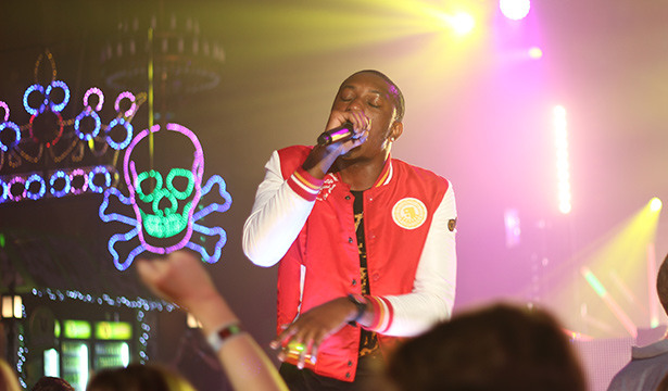 Photos | MTV Winter 2012 - Chiddy performing live onstage at MTV Winter at the Plaza Ballroom in Melbourne, 19 July 2012.