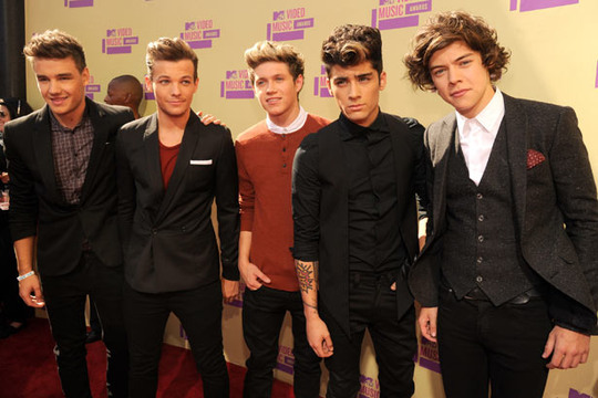 2012 MTV VMA - Red Carpet - One Direction