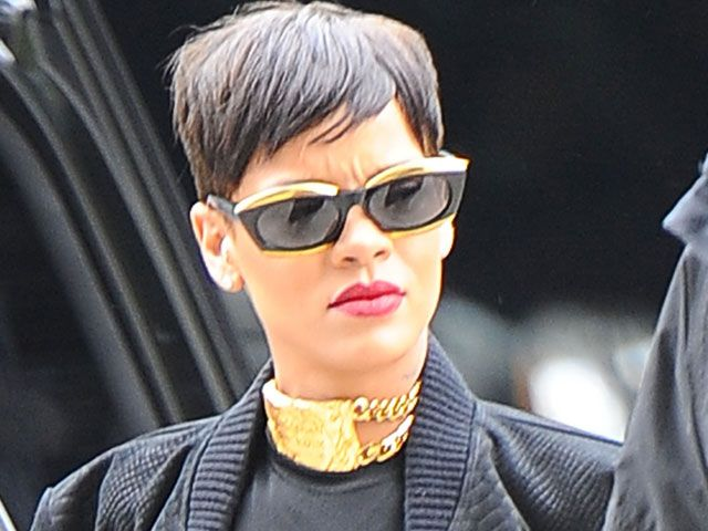 In court: Rihanna has won a two-year multi-million pound legal battle