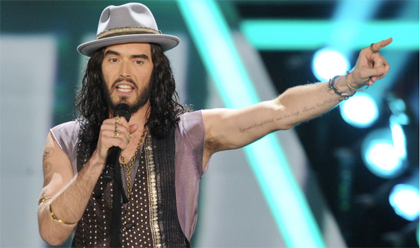 Show Photos: 2012 MTV Movie Awards - Russell Brand hosting the 2012 MTV Movie Awards.