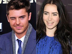 "Zac Efron ""Splits"" From Lily Collins"